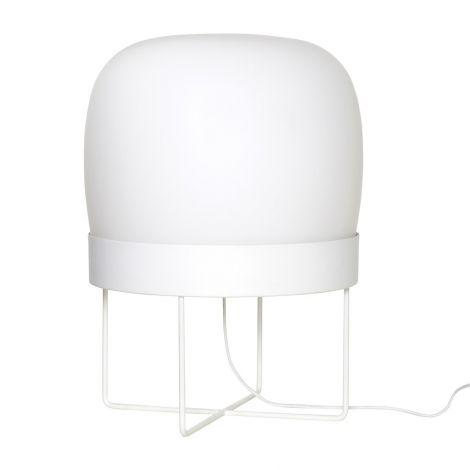 Hübsch gulvlampe B40 hvit