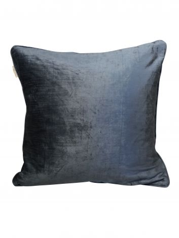 Mille Moi Putetrekk Slub Velvet Foggy Blå 50x50