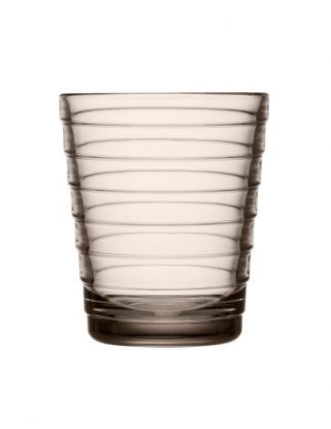 Iittala Aino Aalto glass 22cl lin 2stk