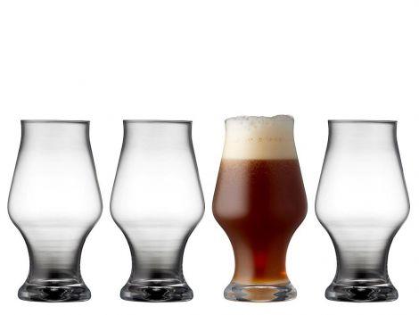 Lyngby glas Ølglass Dark beer 57cl 4 stk.