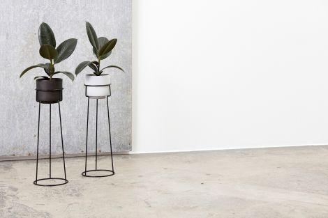 Andersen Furniture A-Plant Flowerpot m / Stand Dark Grey