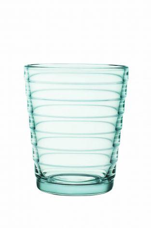 Iittala Aino Aalto Glass vanngrønn 2-pk 22cl