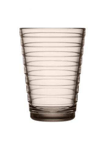 Iittala Aino Aalto glass 33cl lin 2stk