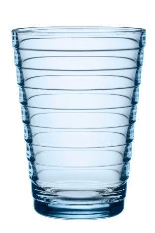 Iittala Aino Aalto glass 33cl aqua 2stk
