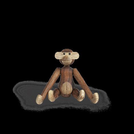 Kay Bojesen Miniature Monkey Teak & Limbatre 9,5 cm