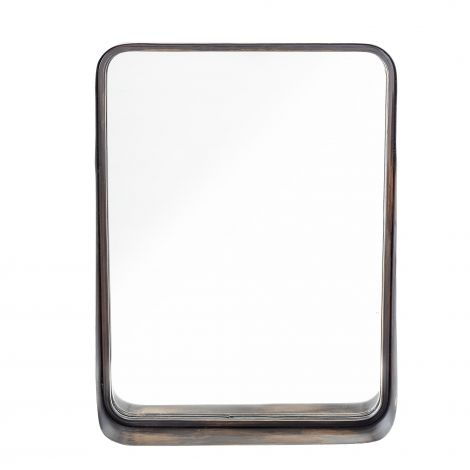 Bloomingville Speil Metall Sort 46x60 cm