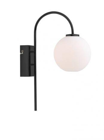 Herstal Ballon Vegglampe Svart LED