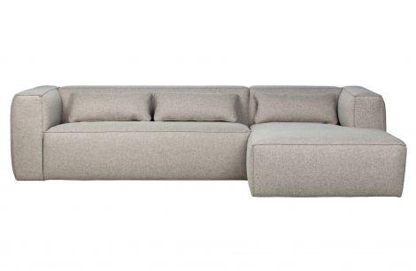 WOOOD Bean Corner Sofa Light Grey Multiple Choice