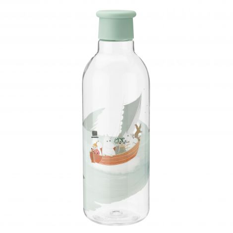 RIG-TIG X Moomin Drink-It Vannflaske Dusty Green 0.75L