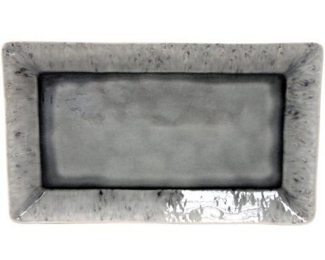 Serveringsfat Costa Nova Madeira rektangulær grå - 40 cm