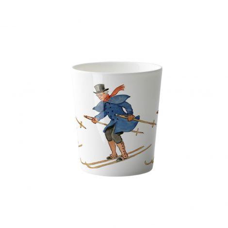 Elsa Beskow Kopp Uncle Blue Skiing 28 cl