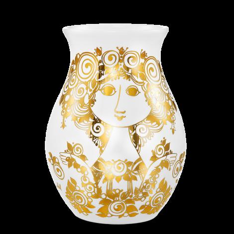 Bjørn Wiinblad Rosalinde Vase Gull, 26 cm