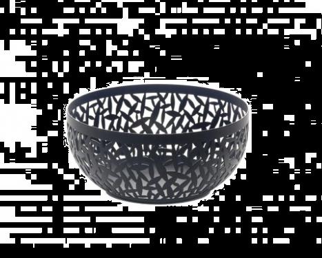 Alessi Cactus Fruit Bowl Black 21 cm