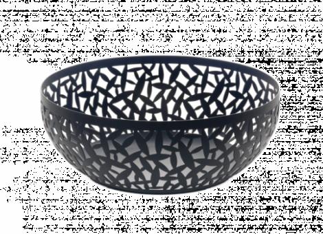 Alessi Cactus Fruit Bowl Black 29 cm