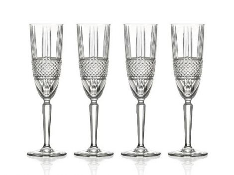 Lyngby Glass Champagne Brillante 19cl 4 stk