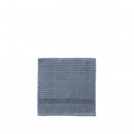 JUNA CHECK VASKEKLUD Mørk mørk blå, 30 cm x 30 cm