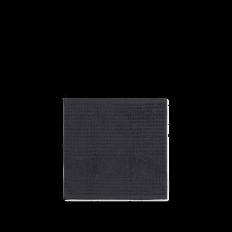 JUNA CHECK VASKEKLUD mørk grå, 30 cm x 30 cm