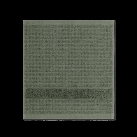 JUNA CHECK VASKETØY Mørkegrønn, 30 cm x 30 cm