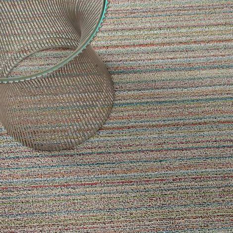 Chilewich Dørmatte Skinny Stripe Soft Multi