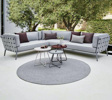 Cane-line Conic loungegruppe lys grå