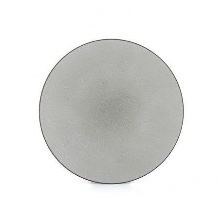 Revol Equinoxe Tallerken Hvit Pepper 28 cm