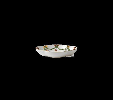Royal Copenhagen Stjerne Riflet Christmas Fat 22 cm. Levering mai -21.