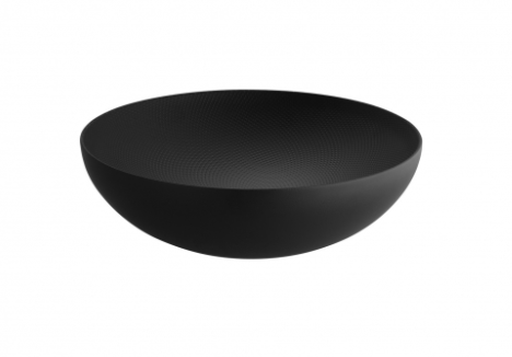 Alessi Double Wall Bowl Svart 25 cm