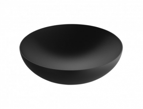 Alessi Double Wall Bowl Black 32 cm