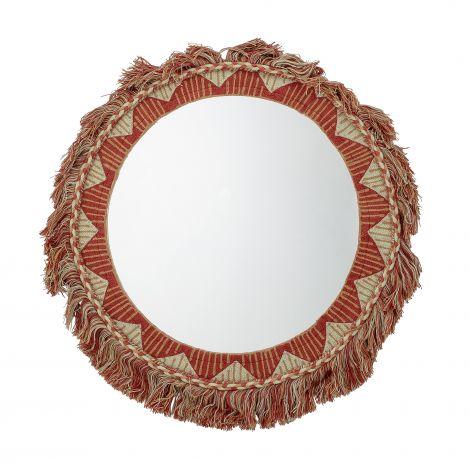 Bloomingville Speil Bomull Rød Ø50 cm