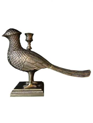 Vanilla Fly Lysestake Kubo Bird Brass Finish
