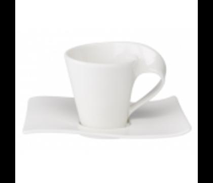 Villeroy & Boch New Wave Espressokopp & underkop