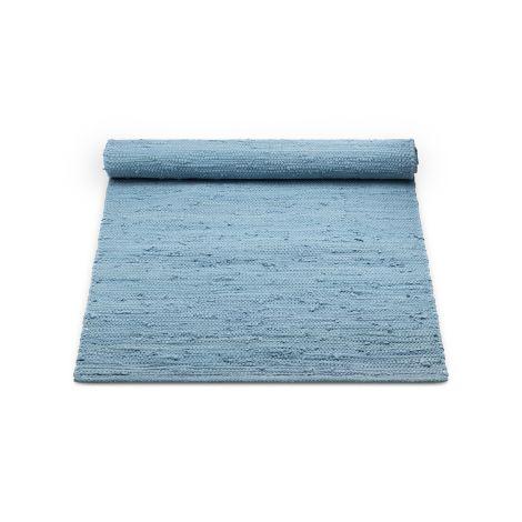 Rug Solid Bomullsteppe Eternity Blue Flere Størrelser