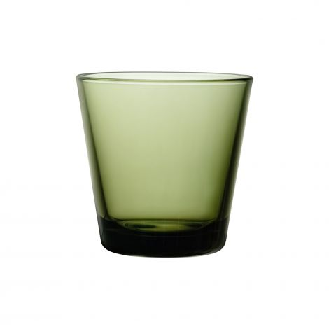 Iittala Kartio Vannglass Mosegrønn 21 cl 2stk