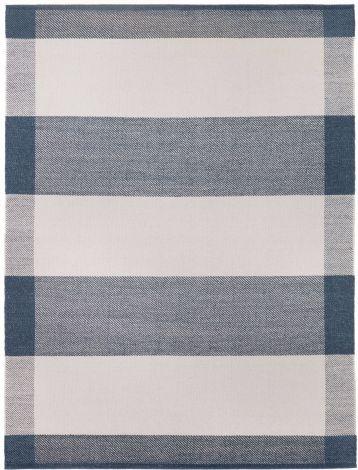 Design av Lisbet Friis Salvia Charcoal / Off White 170x240cm -Offer
