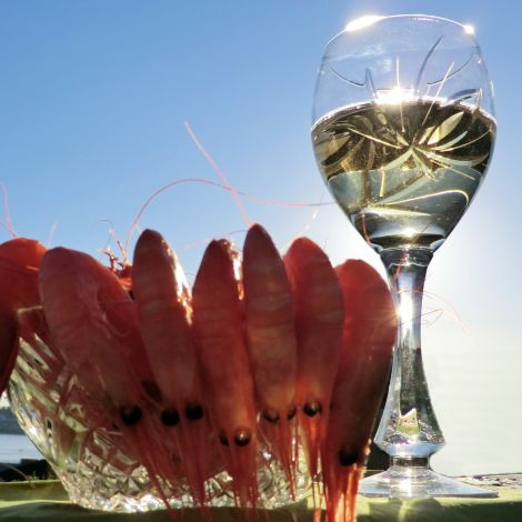Neman Hvitvinsglass Nordic Rose