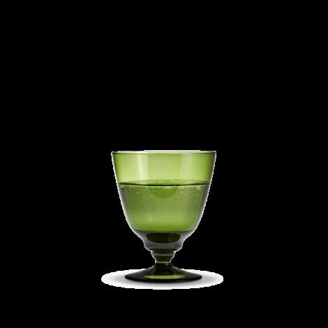 Holmegaard Flow Glass På Stett Olivengrønn 35cl