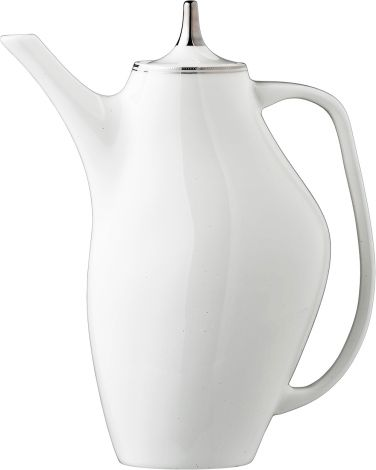 Wik & Walsøe Fnugg kaffekanne Hvit/sølv
