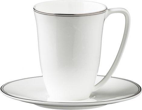 Wik & Walsøe Fnugg kopp & skål 20cl Hvit/sølv