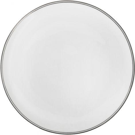 Wik & Walsøe Fnugg tallerken 27cm Hvit/sølv