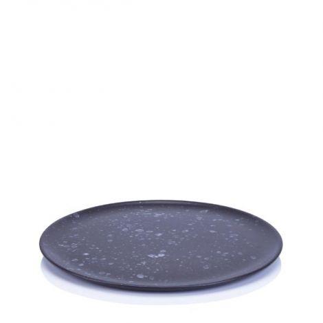 Aida Raw Nordic Frokosttallerken Sort 23 cm