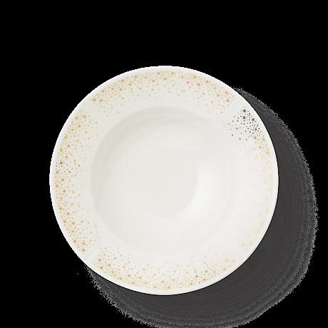 Rosendahl GC Moments Pastatallerken Ø25 cm hvit med gull