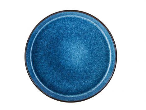 Bitz Gastro Plate Ø 27 cm svart / mørkeblå.