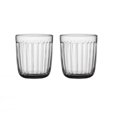 Iittala Raami glass 26cl klart 2-pk
