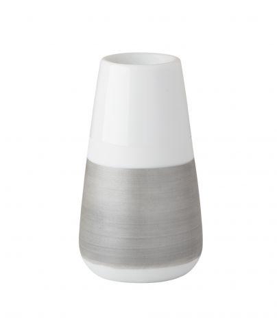 Wik & Walsøe Håndmalt sølv lysestake 10cm