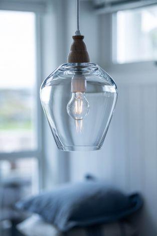 Magnor Rocks Clear lampe, design Halvor Bakke