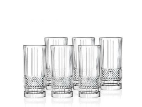 Lyngby Glass Highball Brillante 37cl 6 stk