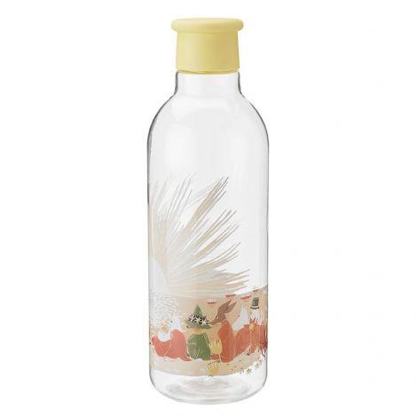 RIG-TIG X Moomin Drink-It Vannflaske Gul 0.75L