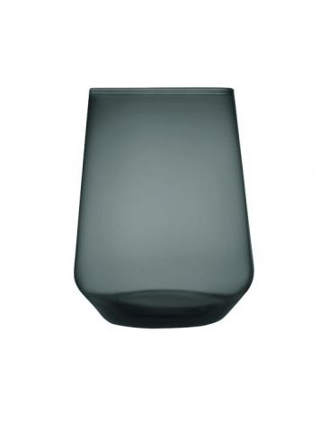 Iittala Essence glass 35cl mørk grå 2-pk
