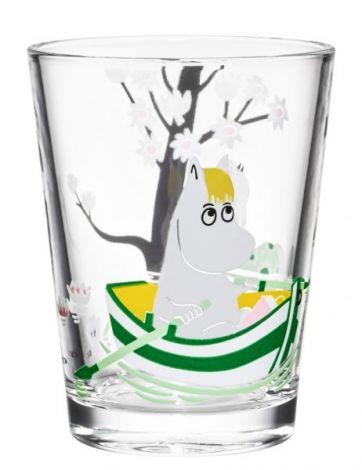 Arabia Mummi glass 22cl Snorkfrøken