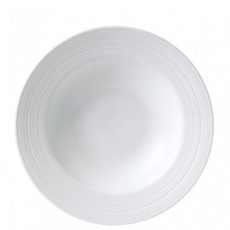 Wedgwood Jasper Conran Strata Rimmet suppe / pastaskål 26cm.